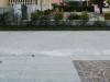 Piazzola del monumento ai caduti vuota da tre anni.