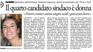 Articolo Gazzettino del 11 Marzo 2014