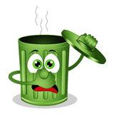 bidone-della-spazzatura-puzzolente-verde-divertente-45705216