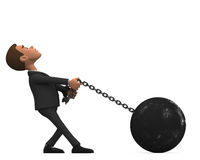 http://www.dreamstime.com/stock-images-chained-businessman-white-background-d-image37127584