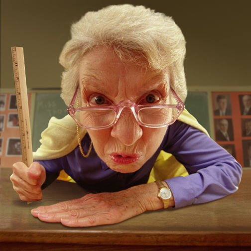 Maestra bacchettate